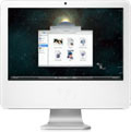 Time Machine browser in iMac